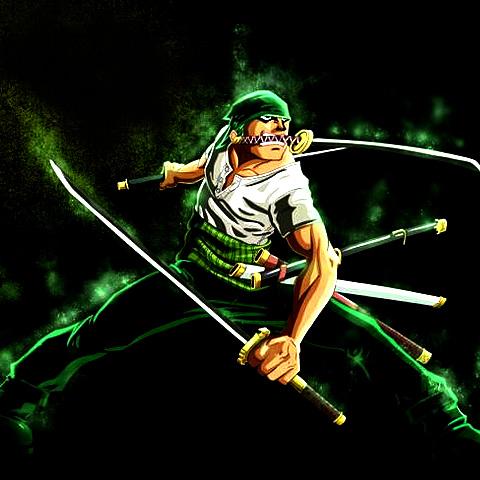 霸气罗罗诺亚·索隆战斗头像图片