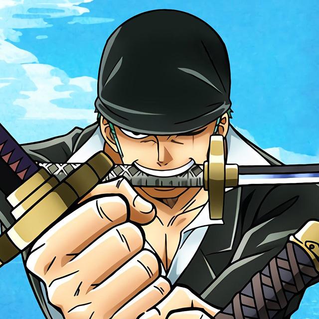 黑头巾海贼猎人罗罗诺亚·索隆头像图片